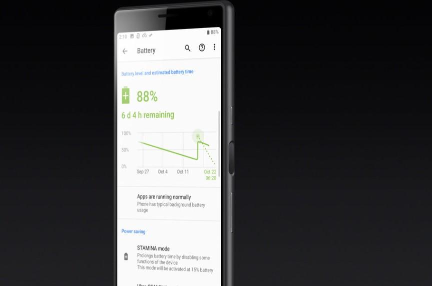 Xperia 10 Plus bateria