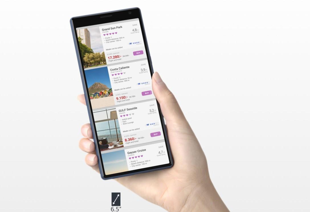 Xperia 10 Plus ekran