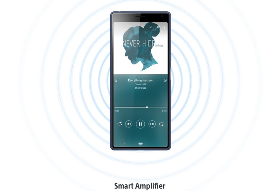 Xperia 10 smart amplifier