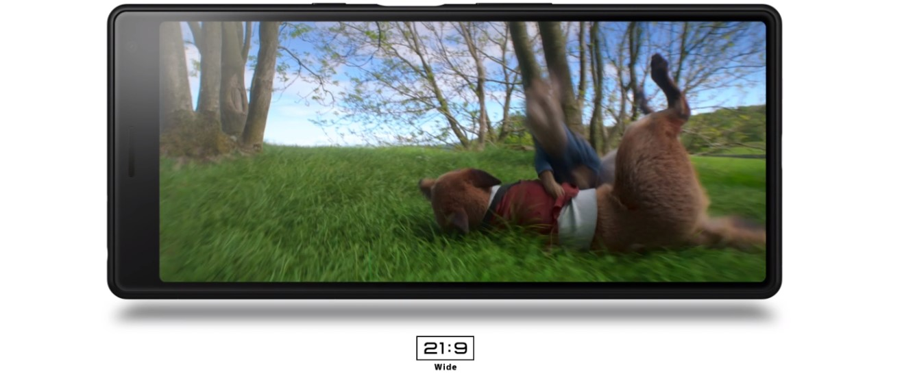 Xperia 10 i filmy na długim ekranie