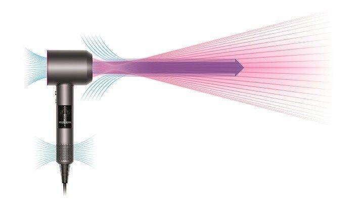 nowoczesna suszarka Dyson Supersonic