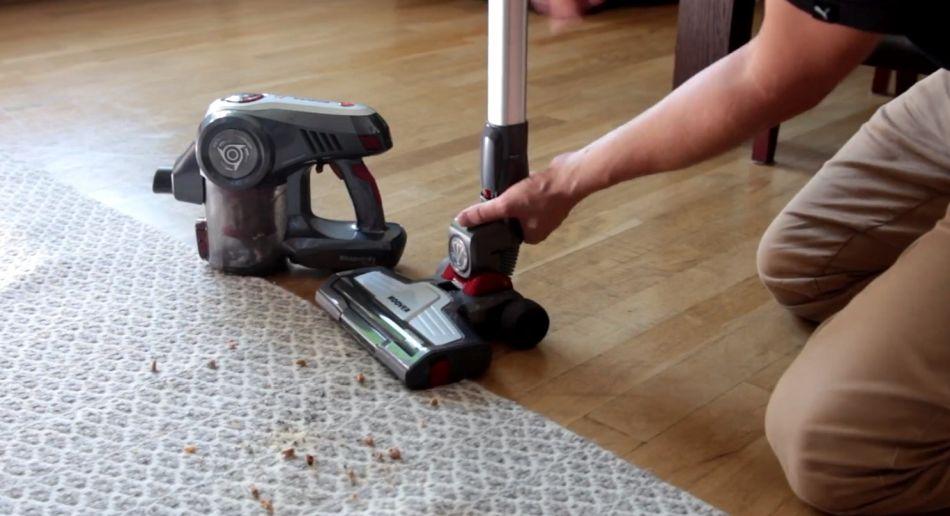 precyzyjne odkurzanie dywanu