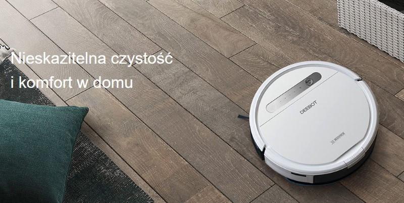 Deboot ozmo 610 zadba o czystość w domu