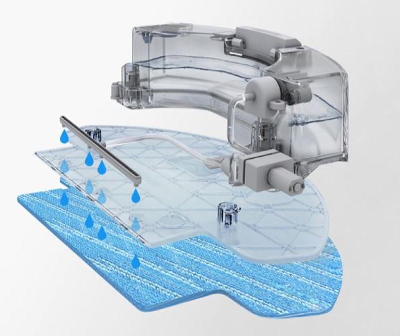Deboot ozmo 610 posiada system czyszczenie wodą