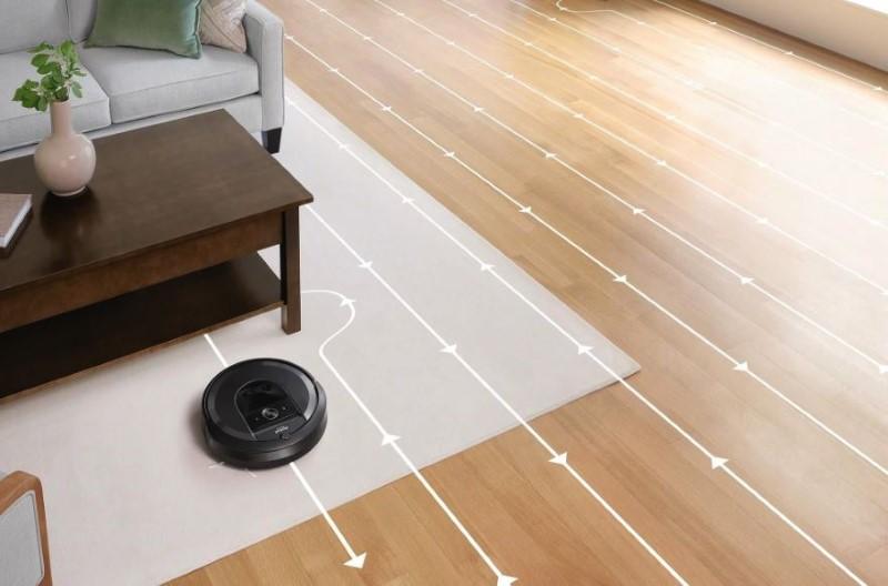 iRobot Roomba i7 wyznacza inteligentne ścieżki