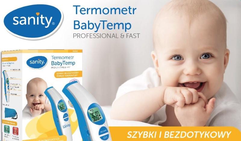 Sanity BabyTemp to szybkie i bezdotykowe mierzenie temperatury