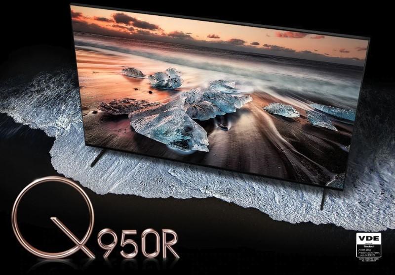 Samsung Q950R to telewizor o rozdzielczości 8k