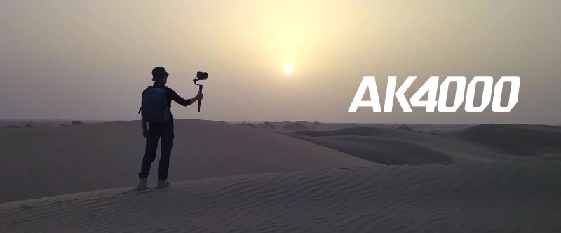 Feiyutech AK4000 nada się do kręcenia w każdych warunkach
