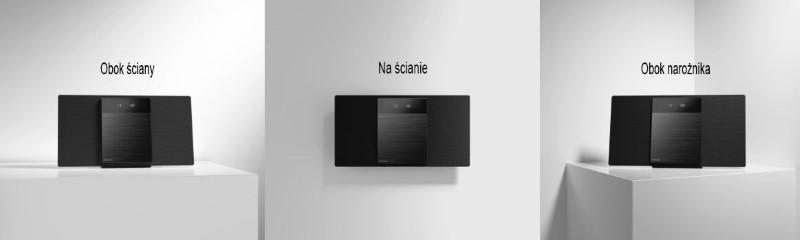 Panasonic SC-HC410 dostosowuje się do pomieszczenia