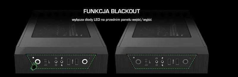 Armis AR3 posiada system blackout