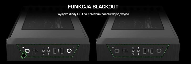 AR 3 TG jest wyposażony w tryb blackout