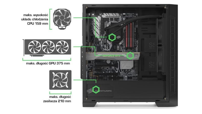 AR 3 TG ma idealny rozmiar dla wielu komponentów