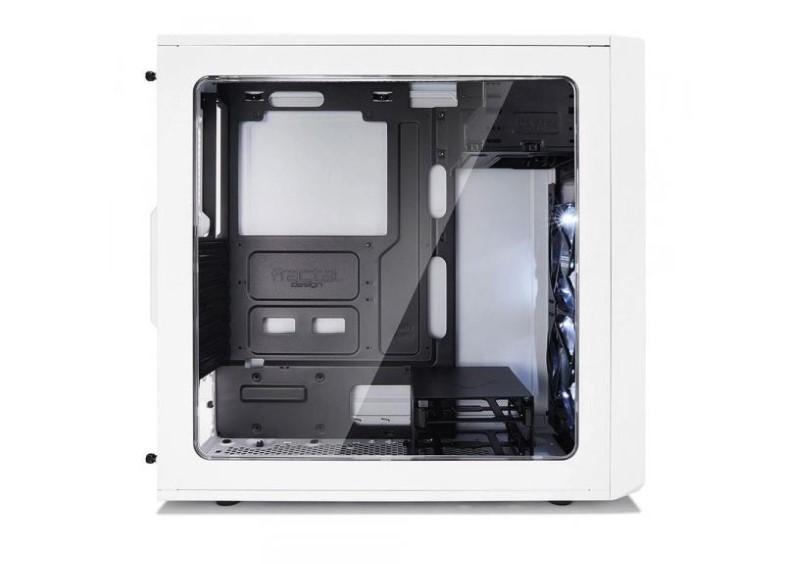 Fractal Design Focus G Window biały ma hartowaną szybę