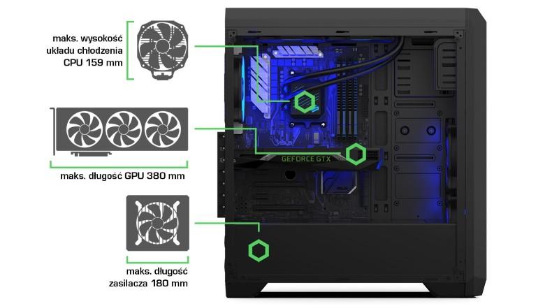 RG4T RGB ma rozmiary idealne na twój sprzęt