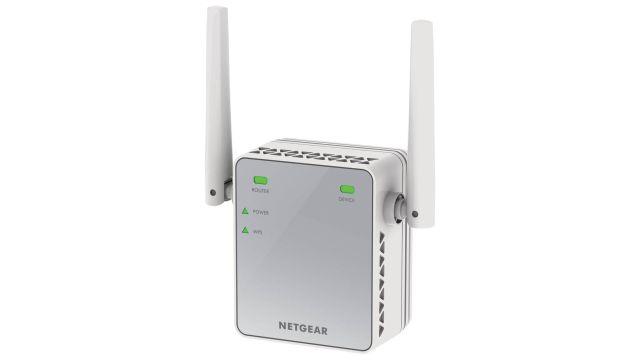 NETGEAR EX2700 (EX2700-100PES) pozwoli uzyskać stabilny i silny sygnał wi-fi