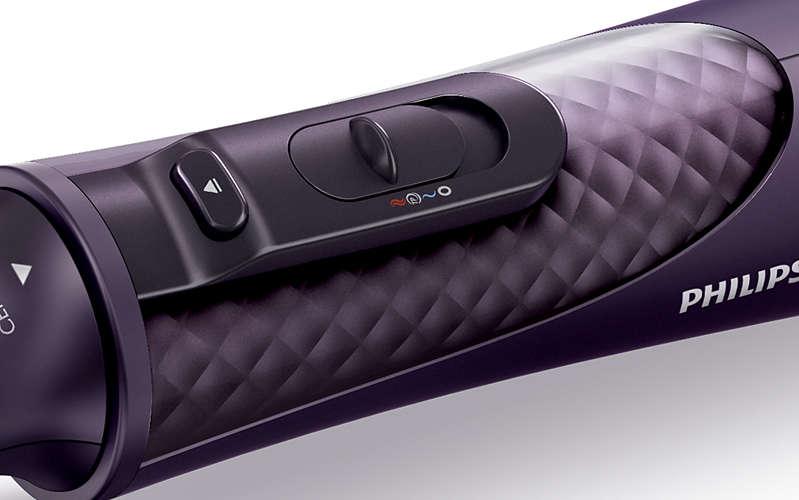 przełącznik w nowoczesnej suszarko-lokówce