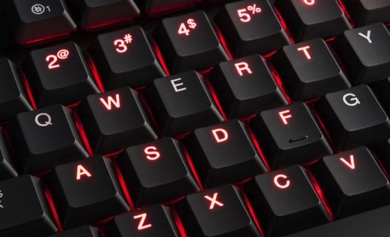 MODECOM VOLCANO BLADE RED ma klawisze z przełącznikami red