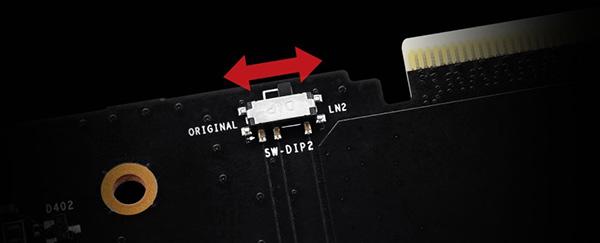 MSI RTX 2080 Ti LIGHTNING Z - dwa BIOSy