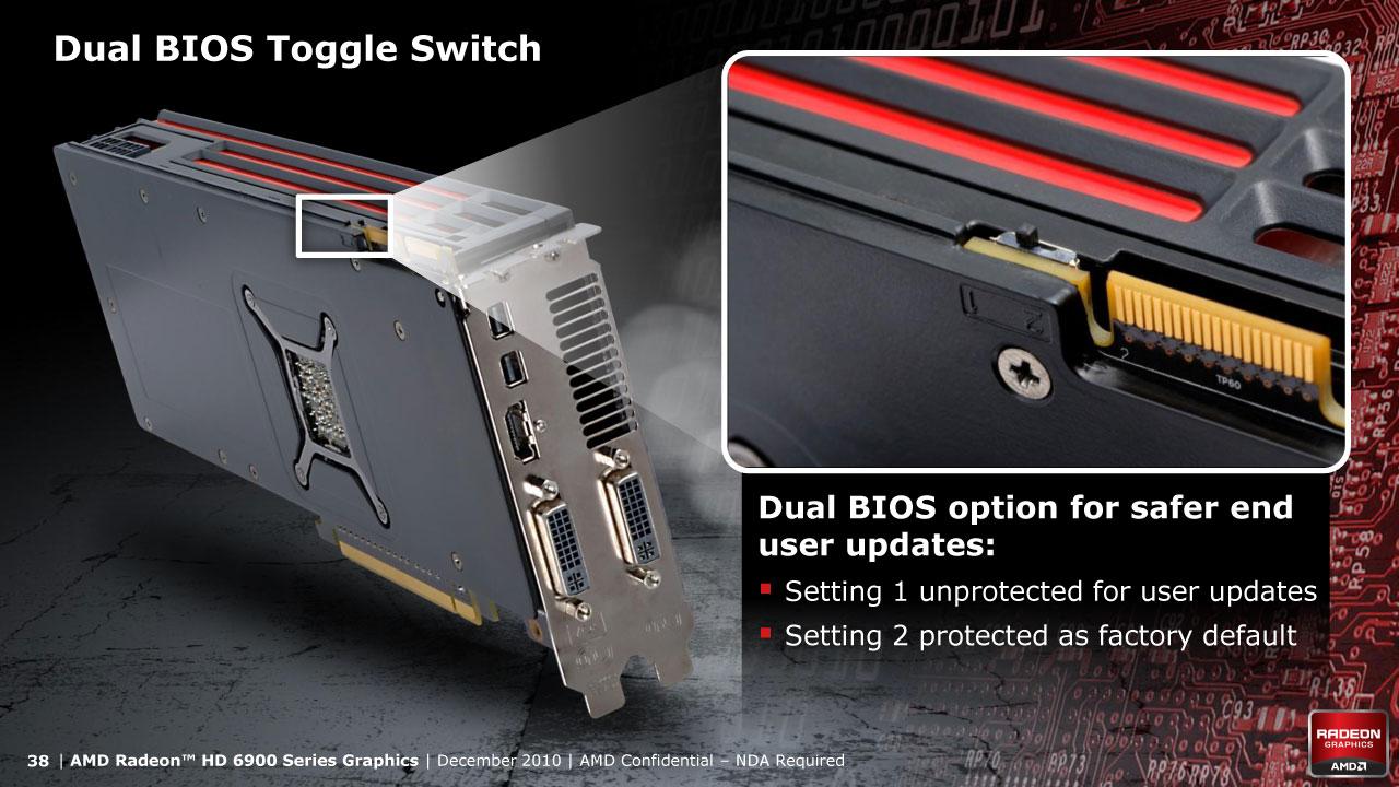 Dwa BIOS w karcie graficznej
