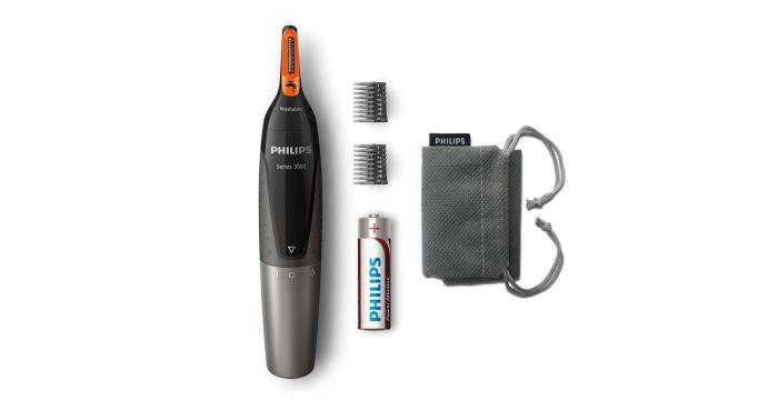 Philips NT3160/10 gwarantuje przycinanie włosów bez wyrywania