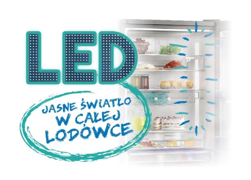 Beko posiada oświetlenie LED