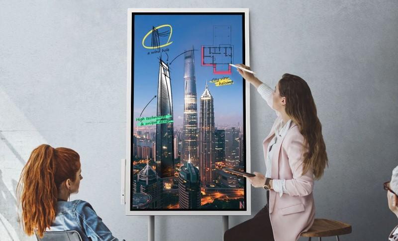 Samsung Flipchart będzie idealnym dodatkiem do prezentacji