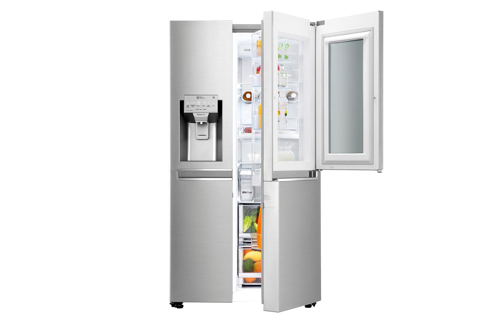 lodówka LG GSX961NSAZ wygląd
