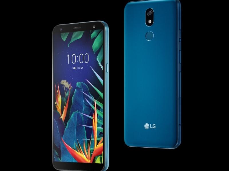 LG K40 front i tyl