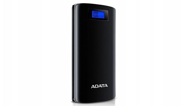 Adata P20000D 20000mAh (AZADAUAPAP200BK) posiada wyświetlacz cyfrowy