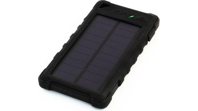 Sunen PowerNeed 8000mAh Czarny (S8000B) z baterią solarną