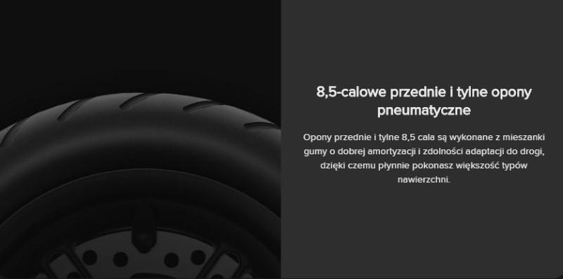 Xiaomi MiJia M365 Pro ma opony nie do zdarcia