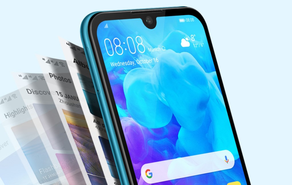 Huawei Y5 2019 16 GB na pliki
