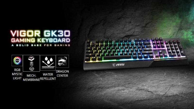 MSI Vigor GK30 funkcje