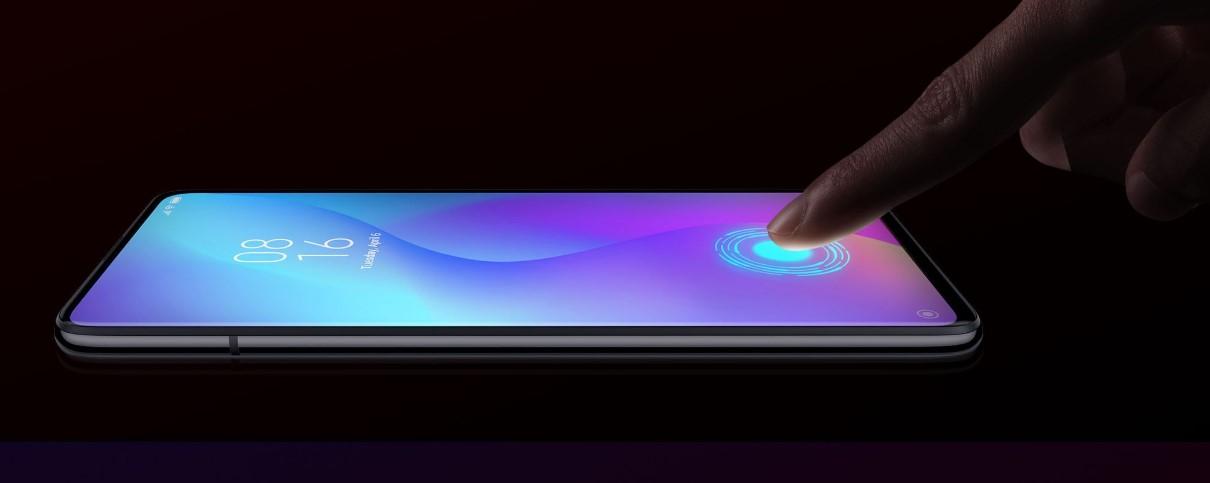 Skaner linii papilarnych Xiaomi Mi 9T Pro