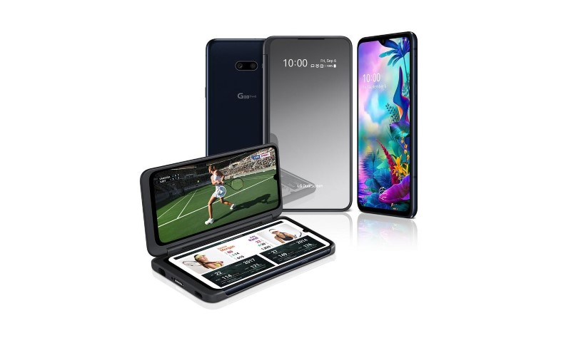 LG G8X ThinQ i sport na dual screenie