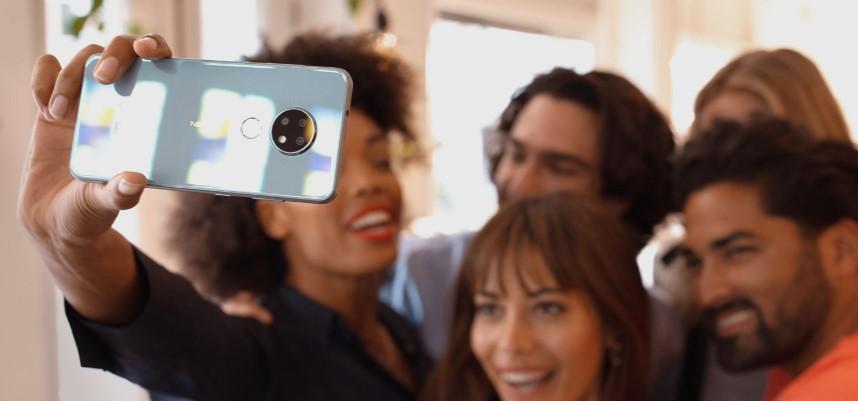 Nokia 6.2 selfie