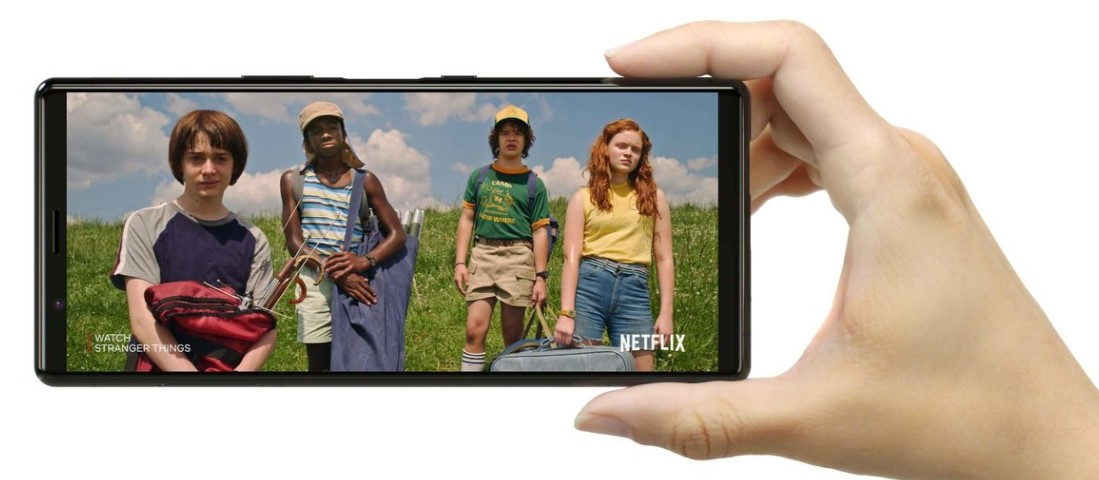Sony Xperia 5 Stranger Things