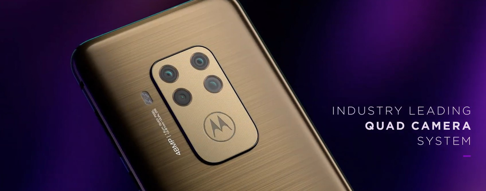 Motorola One Zoom quad camera
