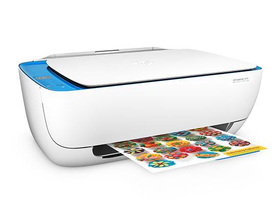 urządzenie wielofunkcyjne HP w kolorze białym