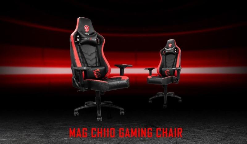 Przedstawienie fotela MSI MAG CH110