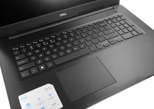 DELL Inspiron 17 5770-7338 - czarny - 240GB SSD   8GB