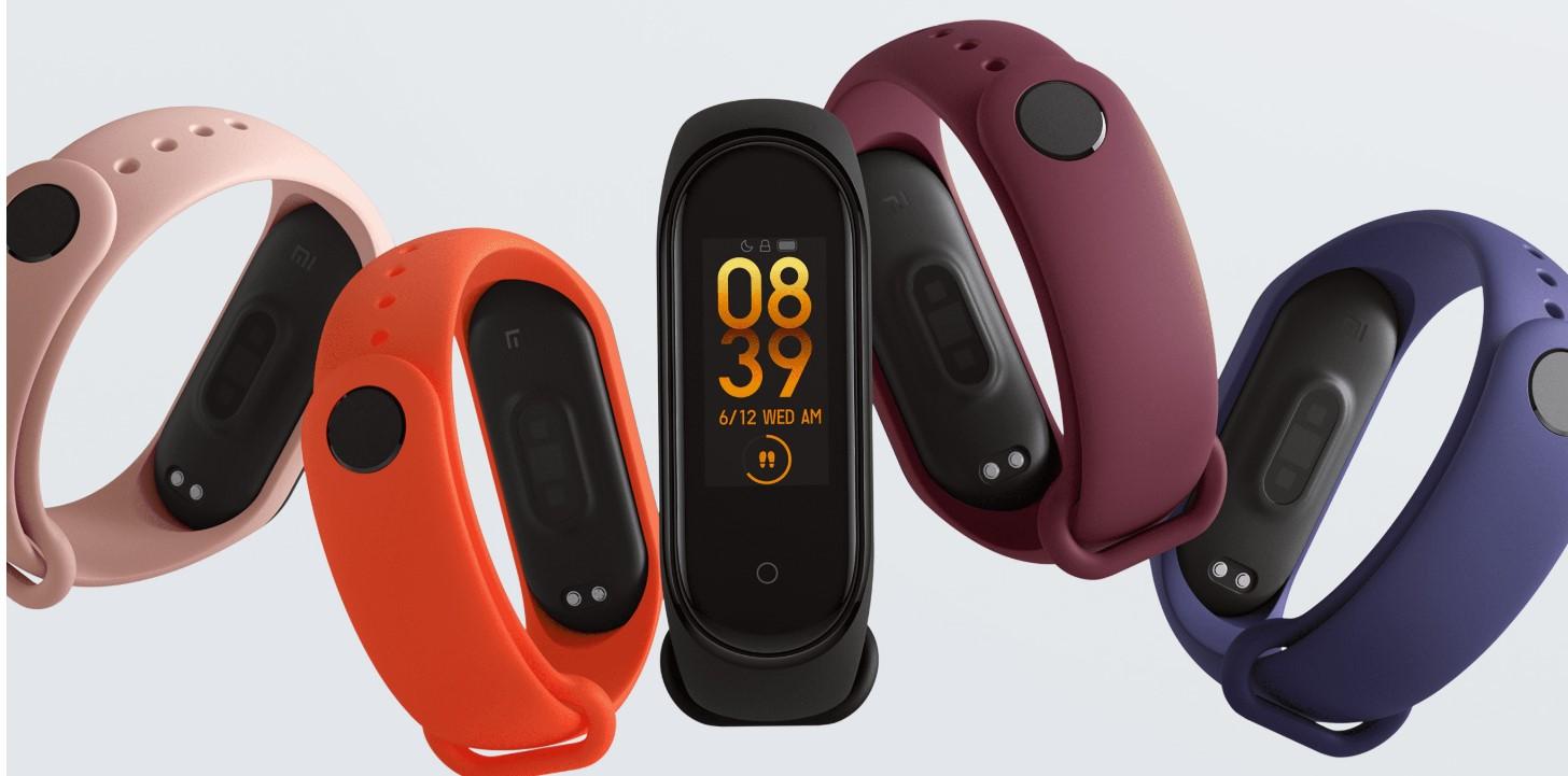 Xiaomi Mi Band 4 kolory