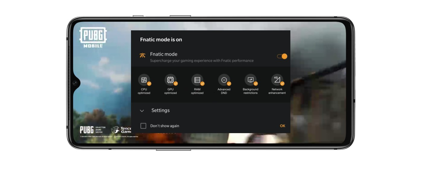 OnePlus 7T fnatic mode