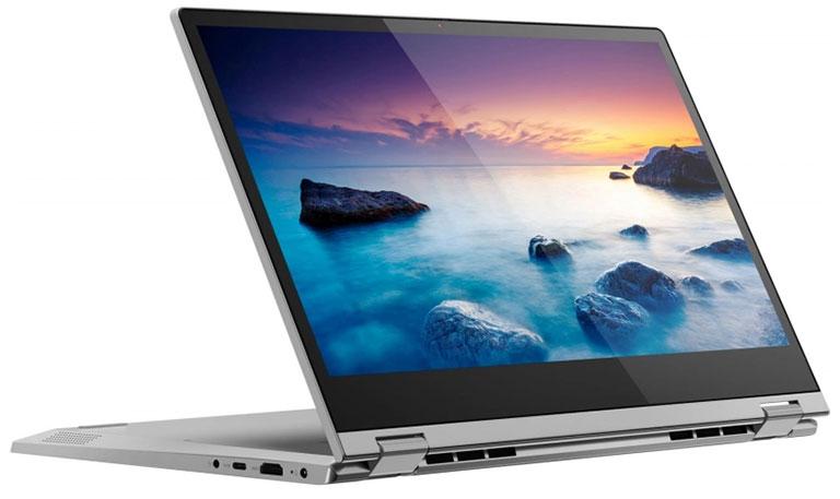 notebook firmy Lenovo z dotykowym ekranem