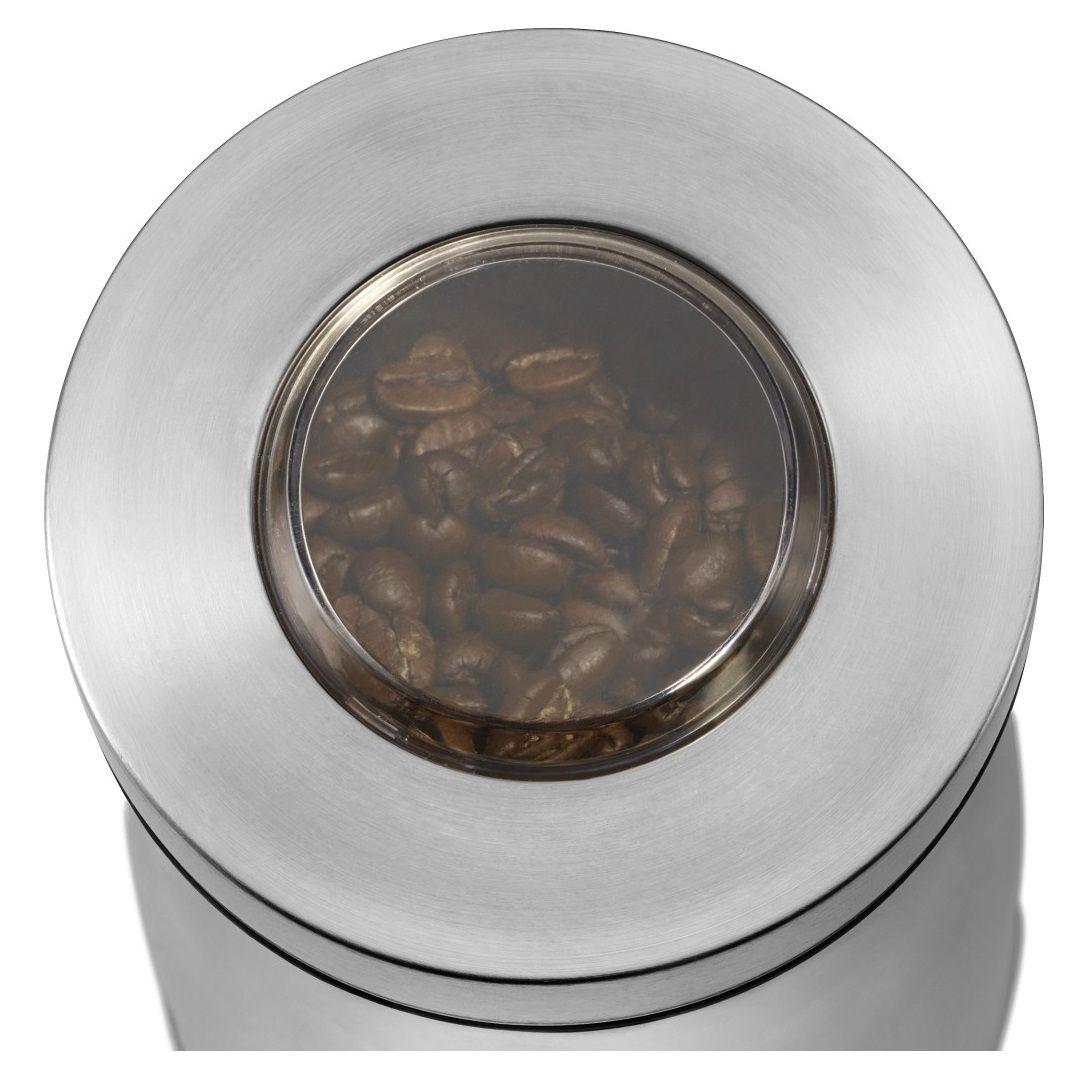 okienko poglądowe w młynku do kawy