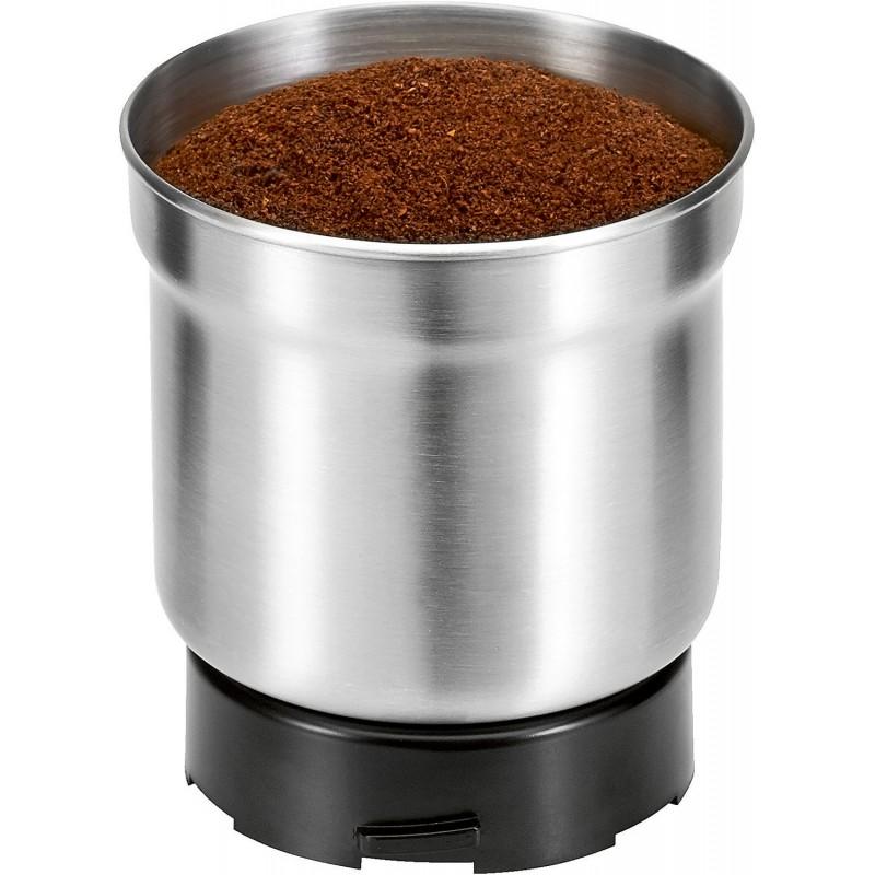 pojemnik ze zmieloną kawą