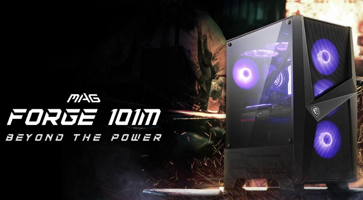 MSI Mag Forge 101M grafika promocyjna
