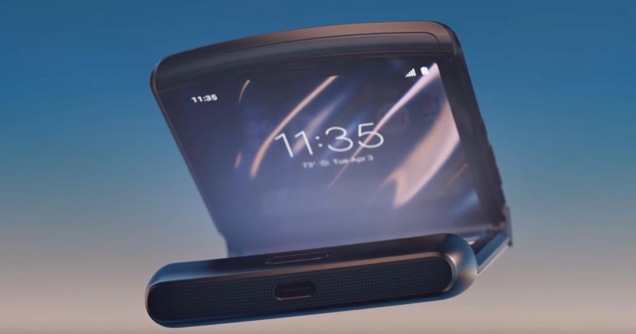 Motorola Razr design
