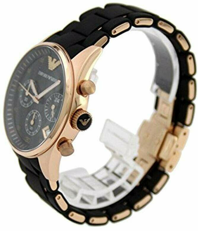zegarek męski Emporio Armani widok z boku