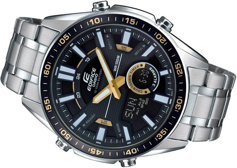 zegarek meski Casio na bransolecie